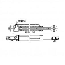 Цилиндр подъёма кабины Actros (левый)