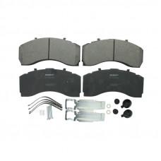 Колодки тормозные (передние) Actros MP3/MP4