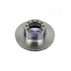 Диск тормозной передний D=430 Actros MP4