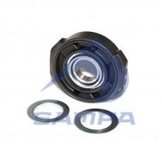 Подшипник опоры кардана (подвесной) (круглый) 55 мм MB Atego