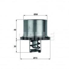 Термостат DAF XF 105 (t=82°C) с прокладкой
