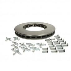 Тормозной диск DAF XF 105 D=432мм