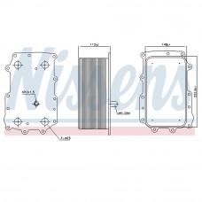 Масляный радиатор охлаждения DAF XF 105