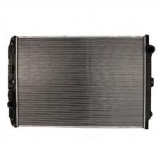 Радиатор охлаждения двигателя DAF XF 105 (без рамы)