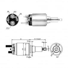 Втягивающее реле стартера DAF XF 95 EURO 3-5