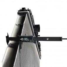 Радиатор без рамы DAF XF 95