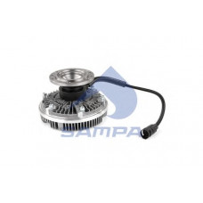 Вискомуфта вентилятора радиатора ДАФ ХФ 95 d=203
