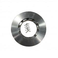 Диск тормозной  DAF XF 105 новый тип