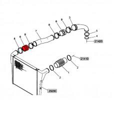 Патрубок интеркулера Рено Магнум (90x125)