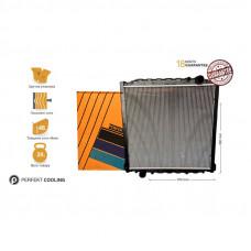 Радиатор охлаждения с рамой MAN L2000