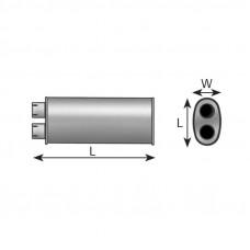 Глушитель MAN L2000 D 0824