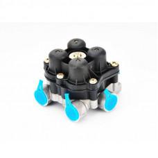Клапан (кран) 4-х контурный MAN L2000