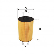 Масляный фильтр-картридж MAN TGX