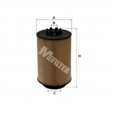 Фильтр топливный MAN TGX D2066